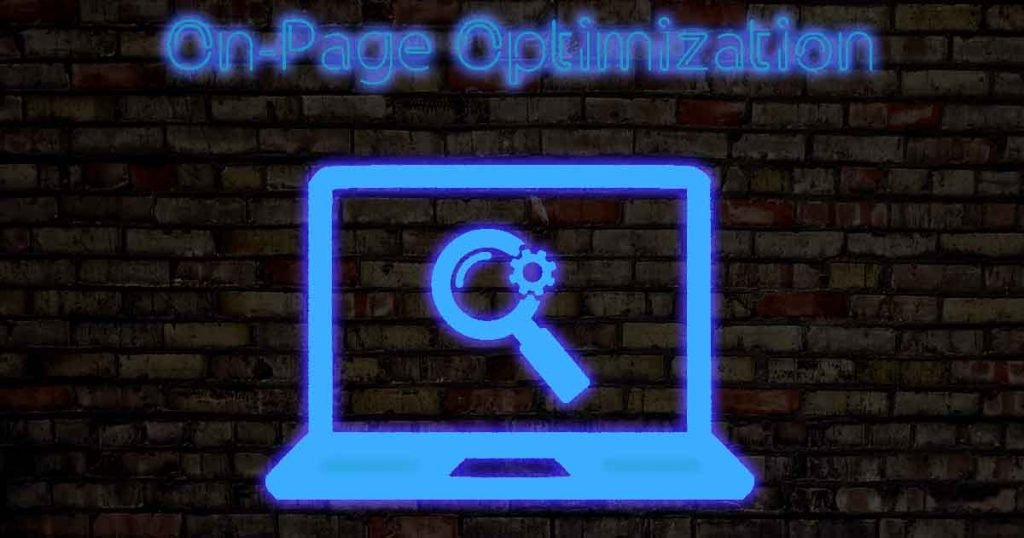 on-page optimization